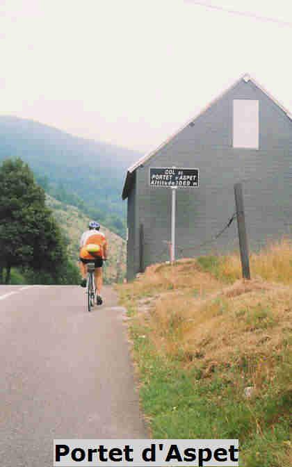 Doorkomst Portet-d'Aspet