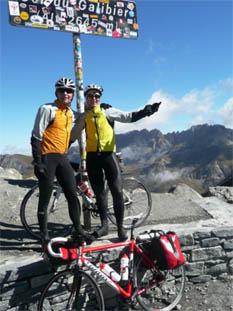 Wegwaaien op de Col de Galibier
